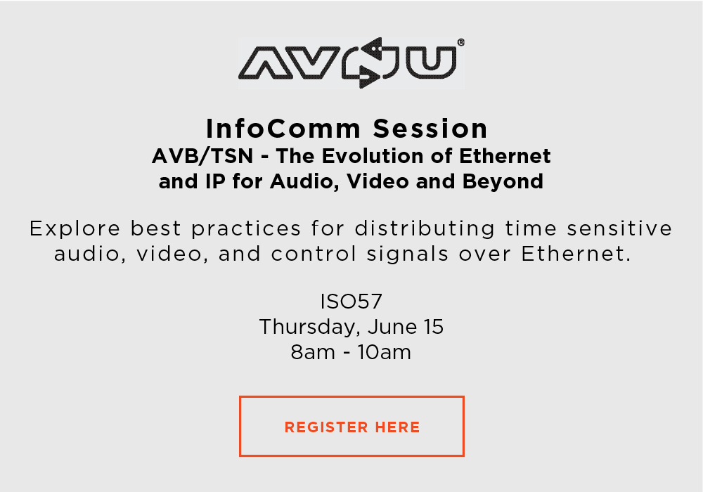 Join us for a class at InfoComm